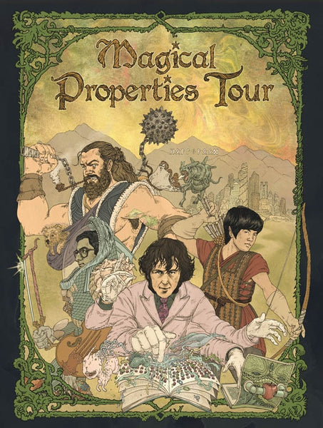Magical Properties Tour Poster