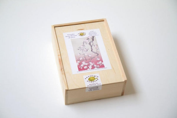 Bunny Blossoms Wooden Jigsaw Puzzle