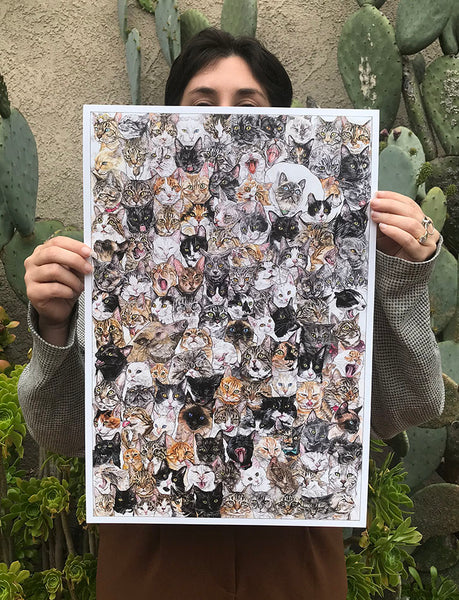 Year of the Pig (aka Cat) Poster