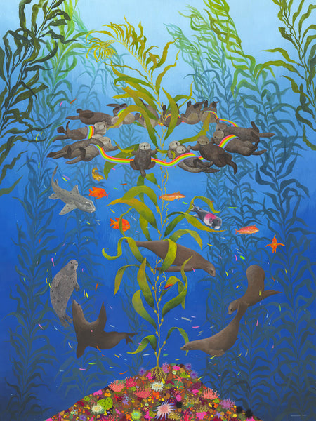 """Kelp Magic"" Limited Edition Print"