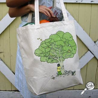 Treehugger Shopping Bag