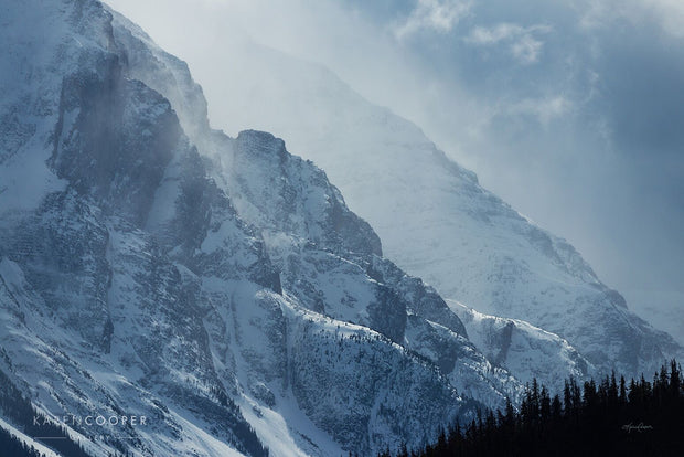 Mt. Athabasca Storm by Karen Cooper Gallery in Vancouver