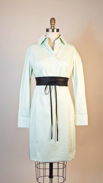 Green Striped Cotton forever10