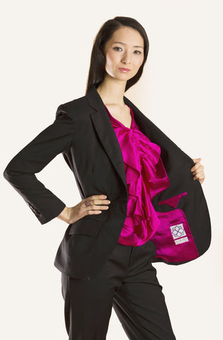 Black with Fuchsia Lining forever06 R001-S04-00