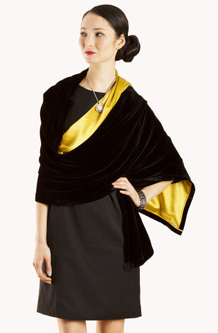 Black with Gold Lining forever07 W001-V01-S07