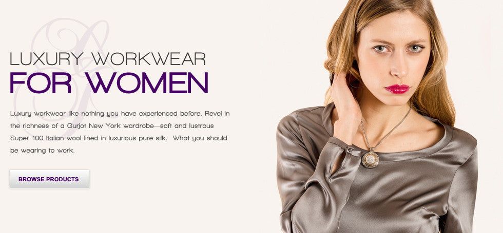 Luxury Workwear for Women