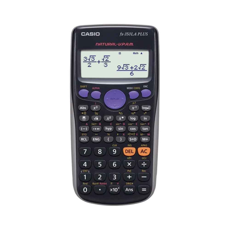Calculadora Fx-350LA Plus Casio Color Negro