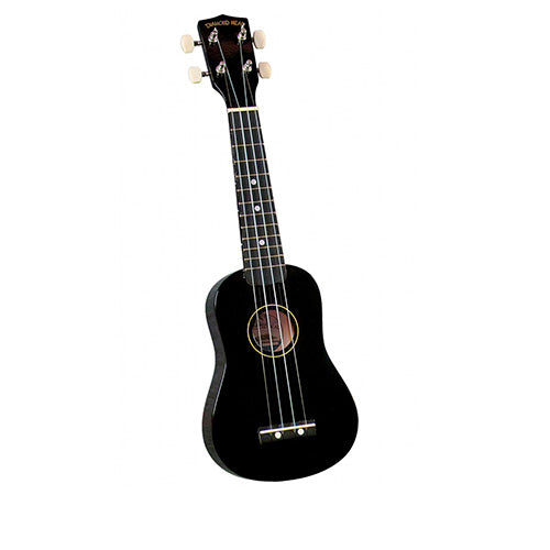 "Ukelele Diamond Head 21"" Negro"