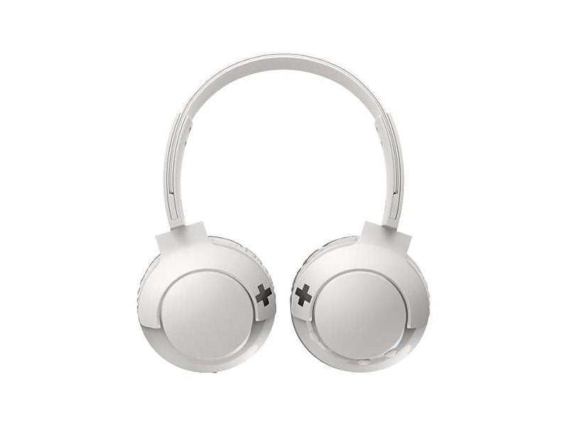 Audífonos Bluetooth Philips Bass+ Supra aural( SHB3075 ) Blanco
