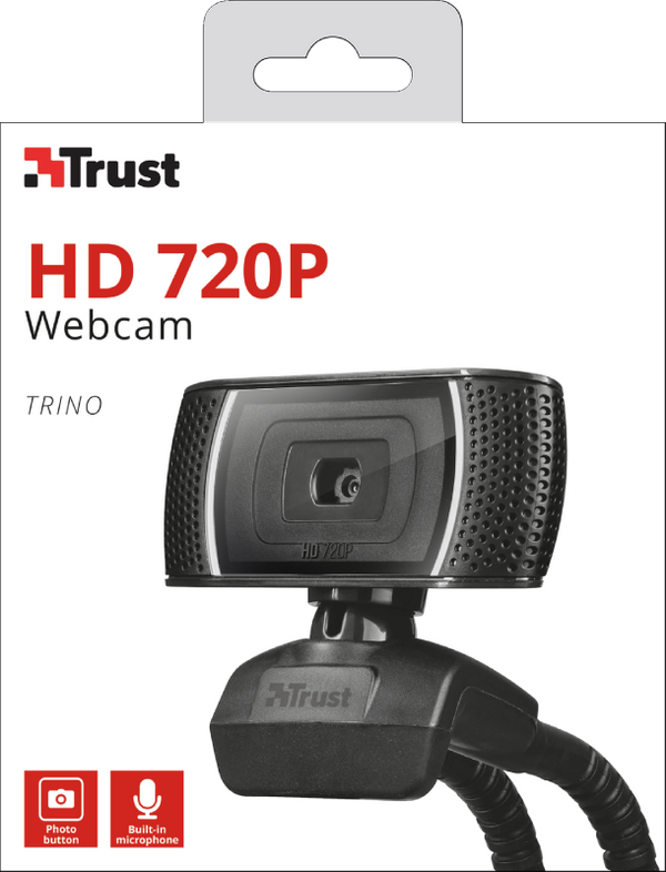 Camara Para Laptop Pc Webcam TRINO  Trust