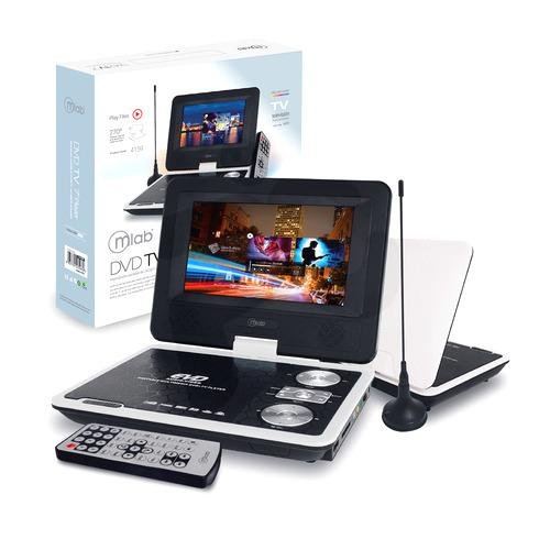 "DVD / TV portátil 7"" Mlab Blanco ( 4159 )"