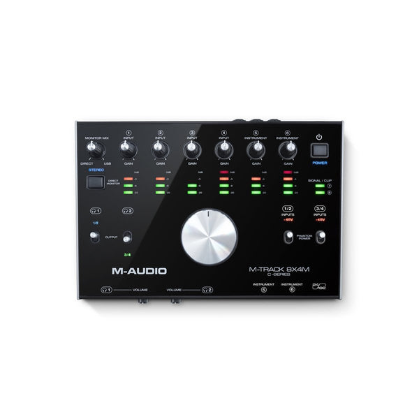 Interface De audio M-Audio M-Track 8x4 Usb