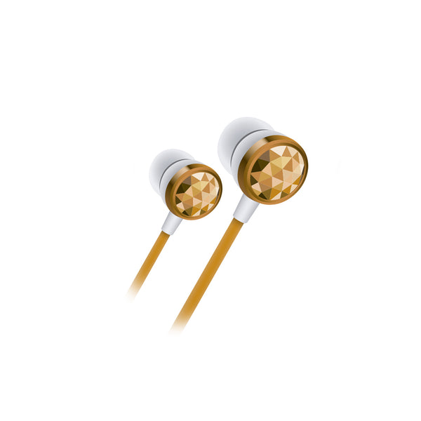 Audífonos Diamond In-Ear Gold  Mlab