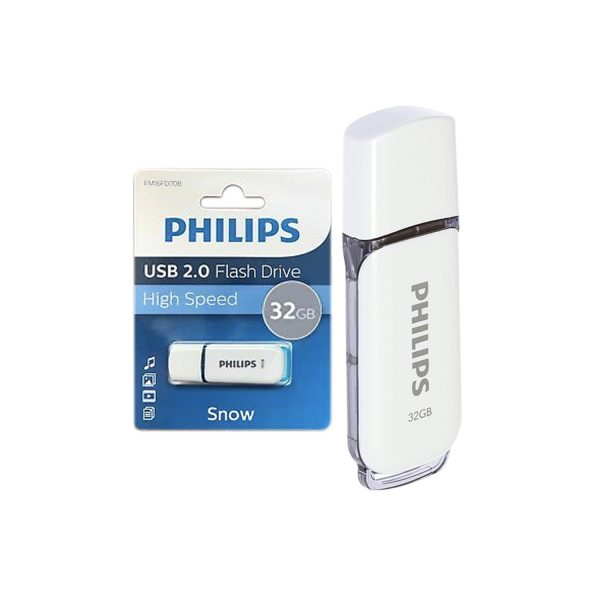 Pendrive Philips USB 32GB Snow 2.0