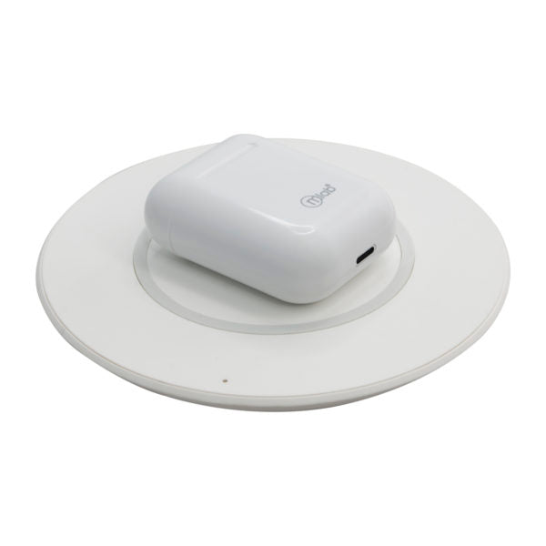 Audífonos Fully Wireless Sound Touch & Charger Mlab Blanco (8721)