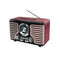 Parlante Retro Radio Antique 1930 Mlab ( 8732 )