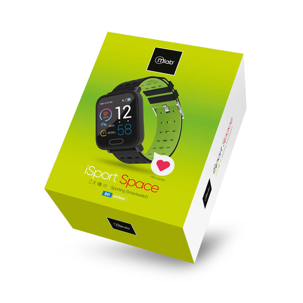 Reloj Smartwatch Mlab 8919 iSport Space  ( Verde)