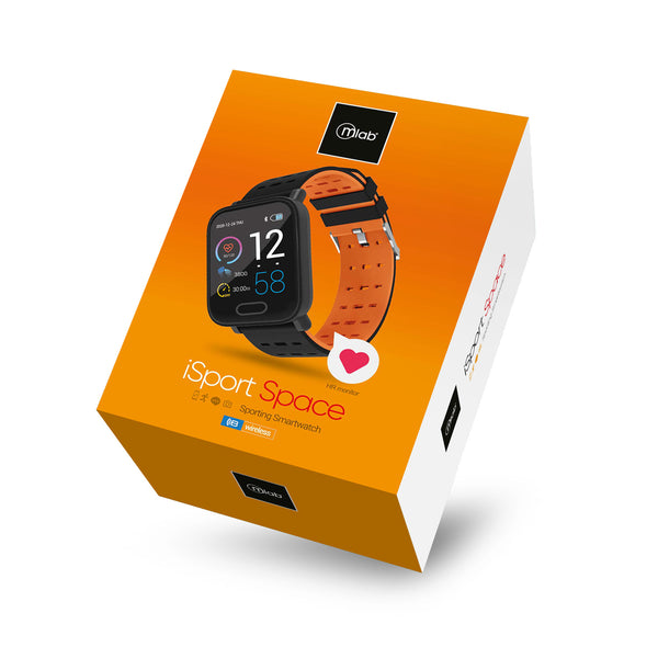 Reloj Smartwatch Mlab 8920 iSport Space  ( naranjo)