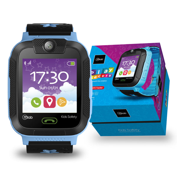 Reloj Smartwatch Mlab 8926 play secure  ( Azul )