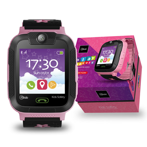 Reloj Smartwatch Mlab 8927 play secure  ( Rosado )