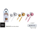 Audífonos Diamond In-Ear Silver 8263 Mlab