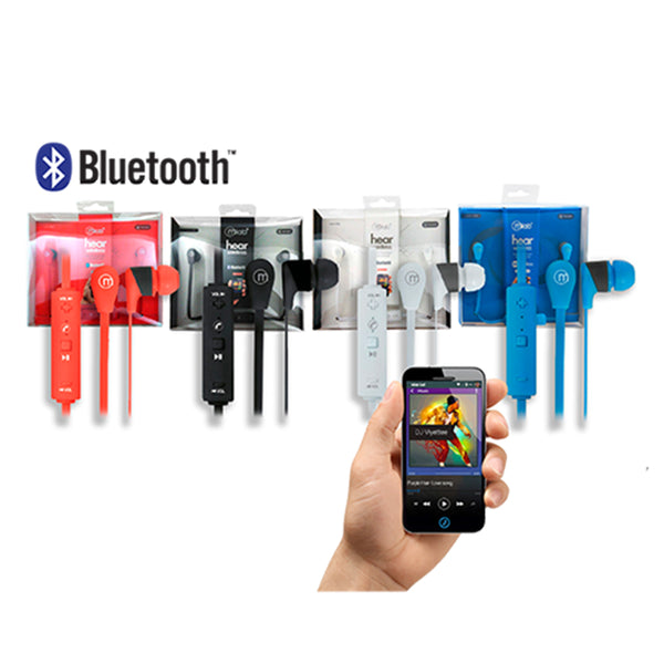 Audífonos Microfono Bluetooth Hear Color