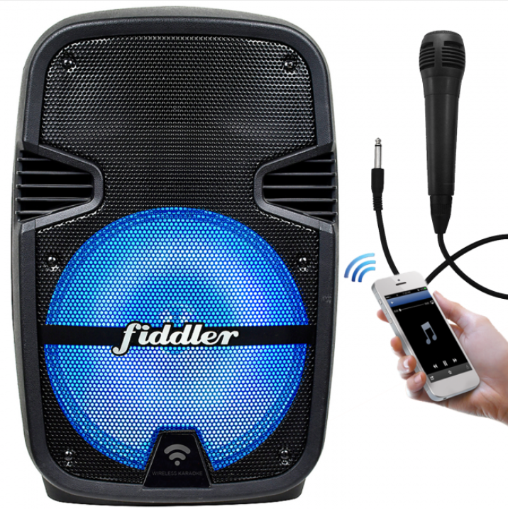 "Parlante Karaoke Bluetooth 8"" Fiddler"