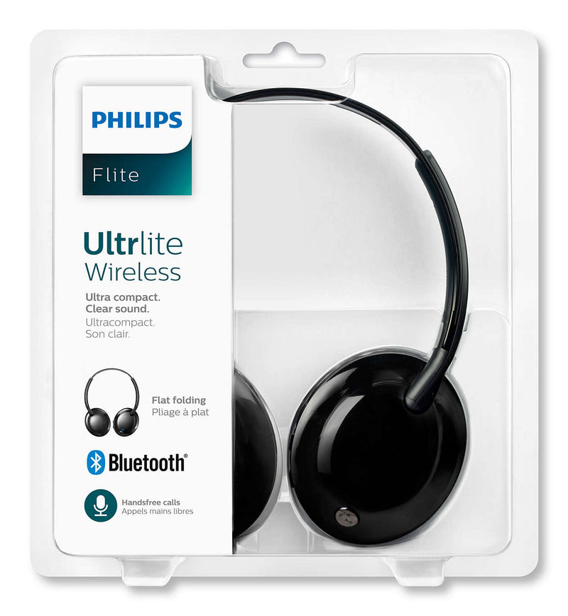 Audífonos Bluetooth Philips Flite Ultrlite ( SHB4445BK )