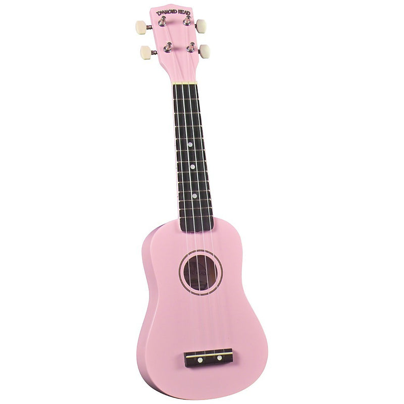 "Ukelele Diamond Head 21"" Rosa"