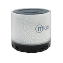 Parlante Bluetooth Mini Cylinder Blanco Mlab