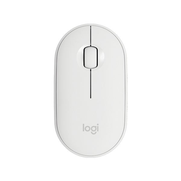 Mouse Inalámbrico y Bluetooth Logitech M350 Blanco
