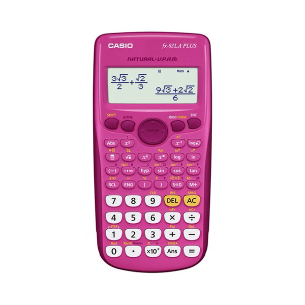 Calculadora Fx-82LA Plus Casio Color Rosa