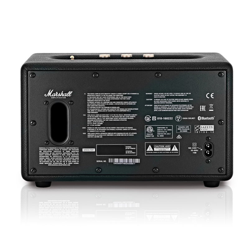 Parlante Bluetooth Marshall Acton Black