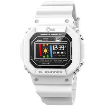 Reloj Smartwatch Mlab 8702 G-Runner Advance ( Blanco )