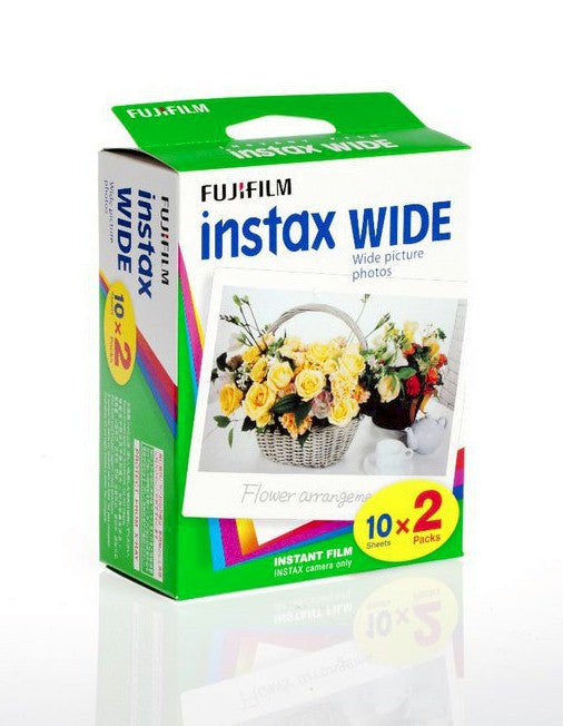 Papel Instax Wide 2x10 ( instax 210 y wide 300 )