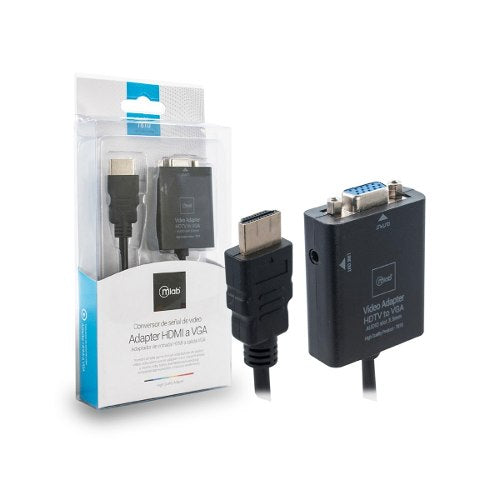 Convertidor De Señal de Video Adaptador HDMI A VGA