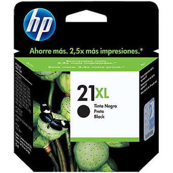 Tinta Catridge Hp 21 Negro XL