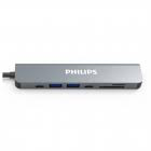 Adaptador multifunción inteligente Philips USB-C a HDTV 7 en 1