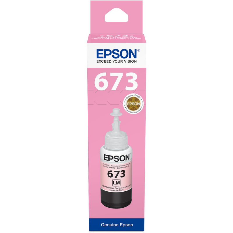 Tinta Botella Epson 673 Light Magenta