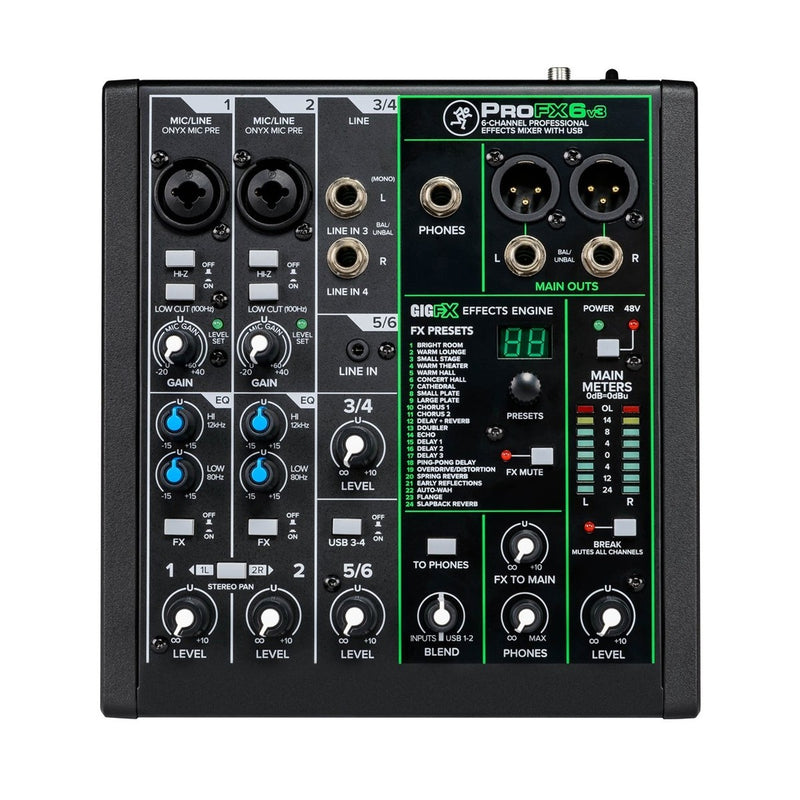 Mesa Mixer Interface USB Pro FX 6 v3 MACKIE