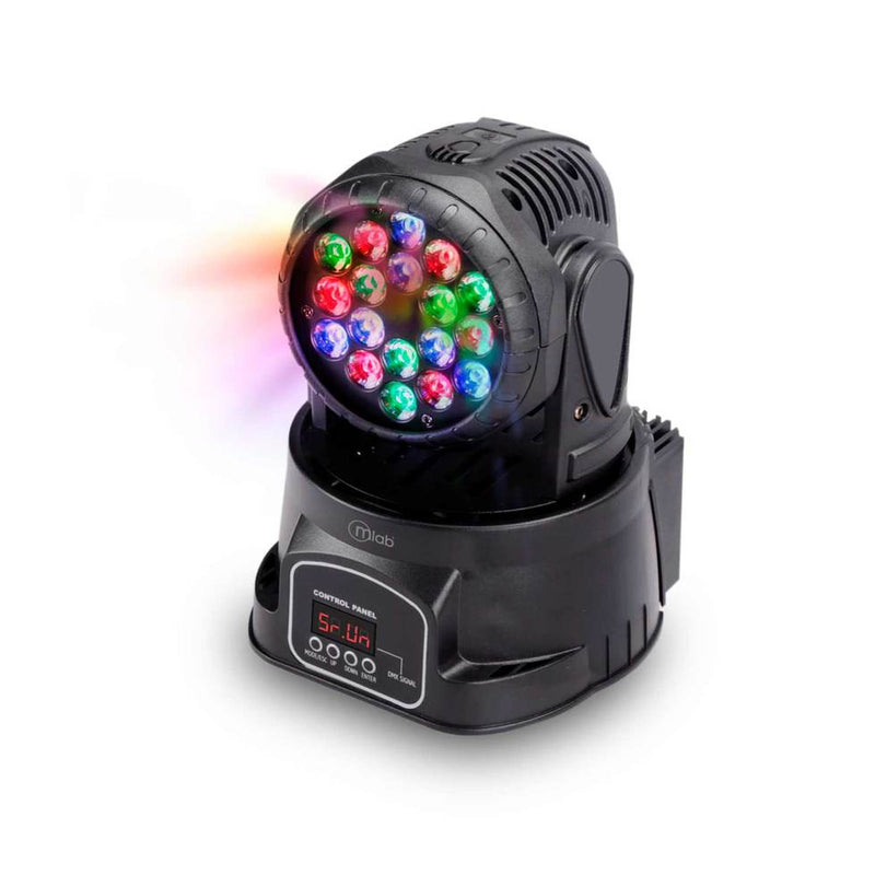 Robot Mlab Luz Led Colores Wash Moving