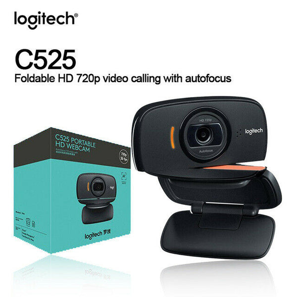 WEBCAM C525 Portable HD  Logitech
