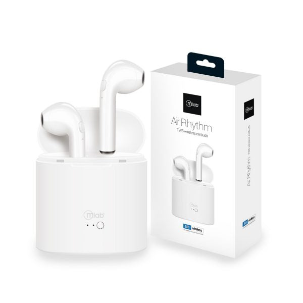 Audífonos Air Rhythm TWS Bluetooth Mlab Blanco