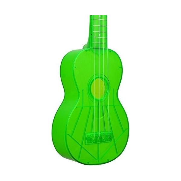 Ukelele The Waterman Soprano Electric Green
