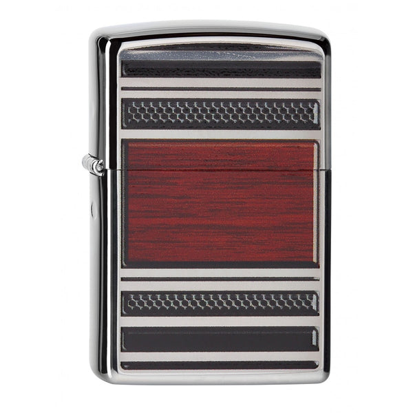 Zippo 28676 Steel And Wood
