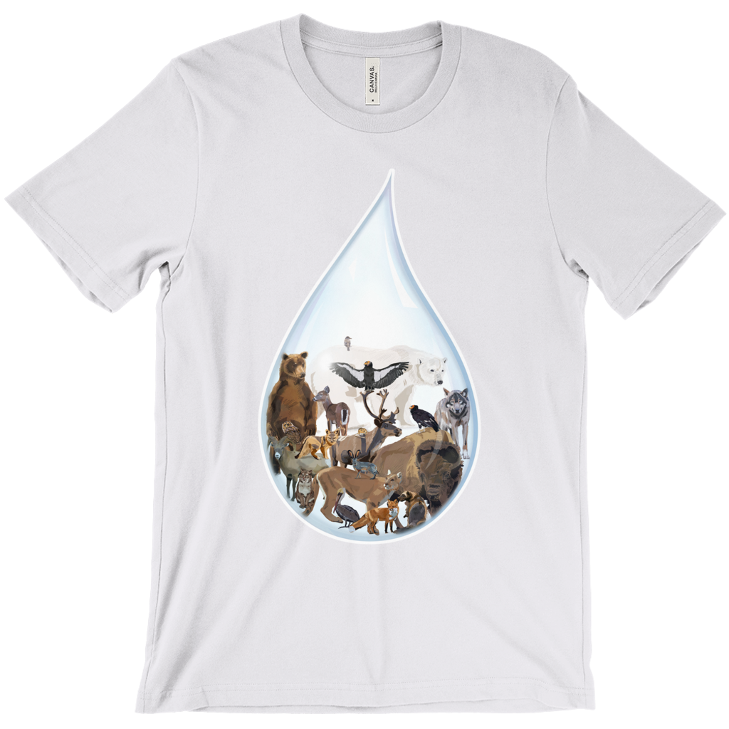 Last Drop: North America - T-Shirts
