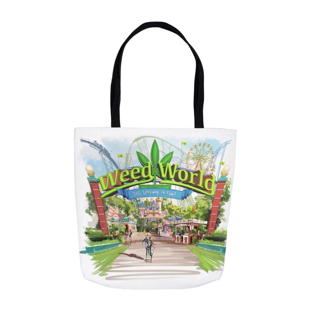 Weed World - Tote Bags