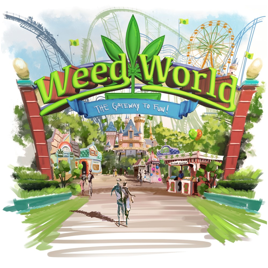 Weed World - Canvas Posters