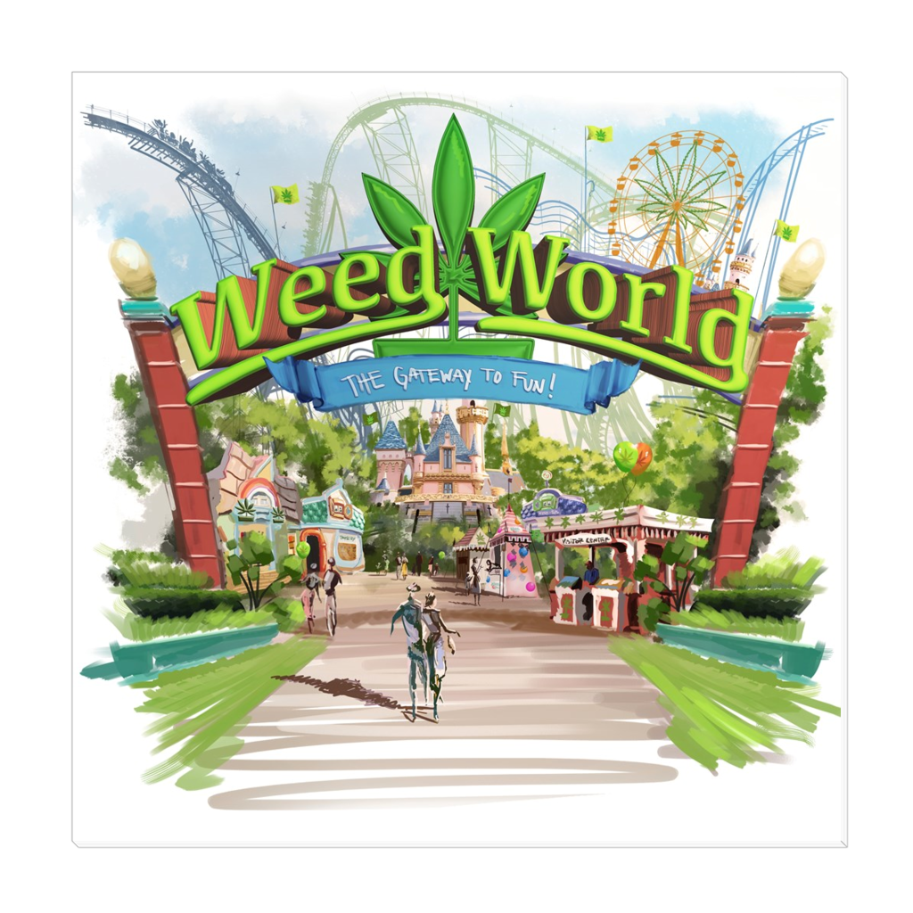 Weed World - Canvas Wraps