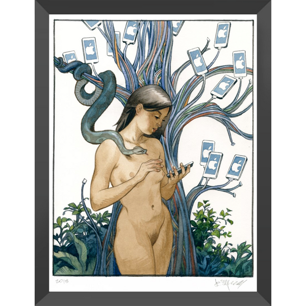 Artificial Paradise - Framed Print